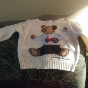 Ralph Lauren Infant Sz. 6 Mo. Sweater